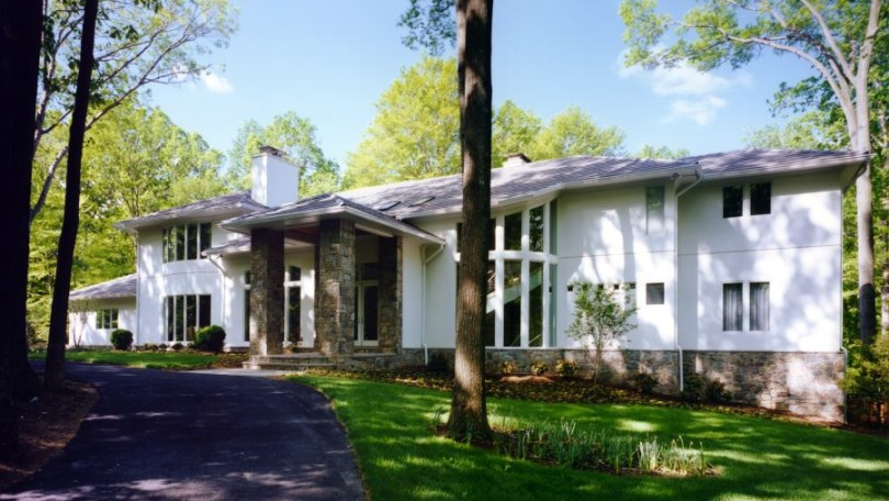 Contemporary Estate - Great Falls, VA