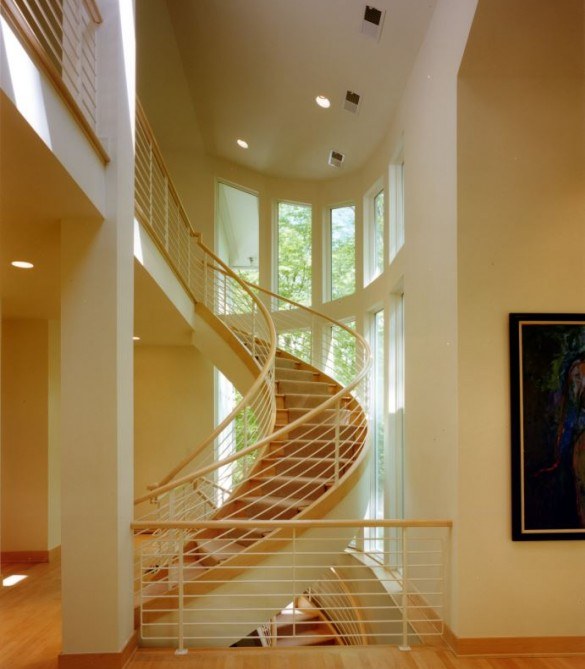 Interior - Contemporary Estate - Great Falls, VA