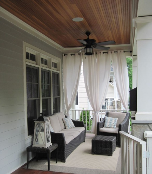 Furnished Covered Porch - Arlington, VA