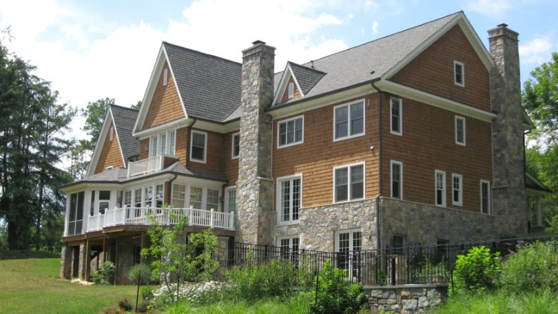 Shingle Style Rear - McLean, VA