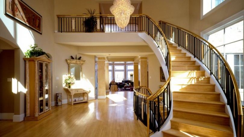 Transitional Style Stair - McLean, VA