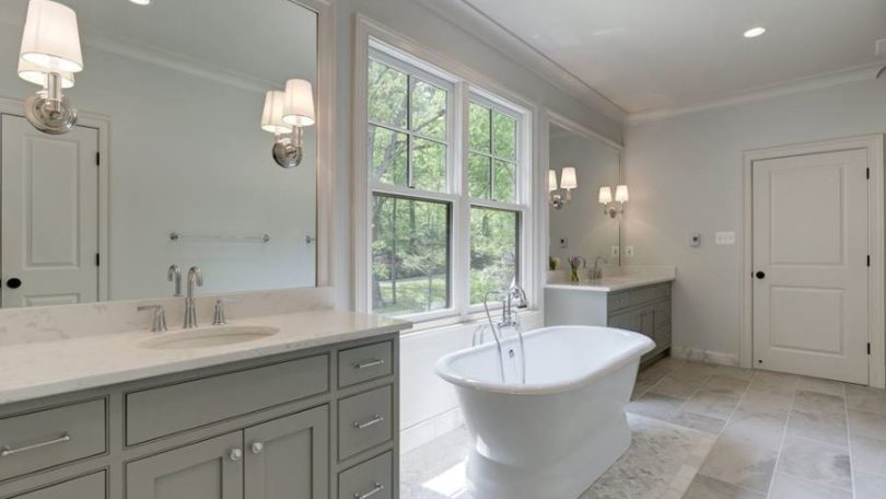 Classic and Luxurious Bath - Arlington, VA