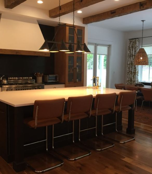 Chic Rustic Contemporary Kitchen - McLean, VA