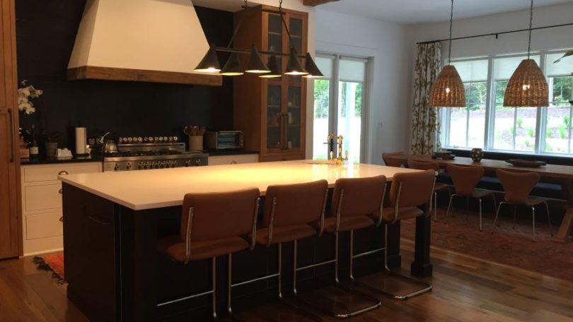 Chic Rustic Contemporary Kitchen - McLean, VA