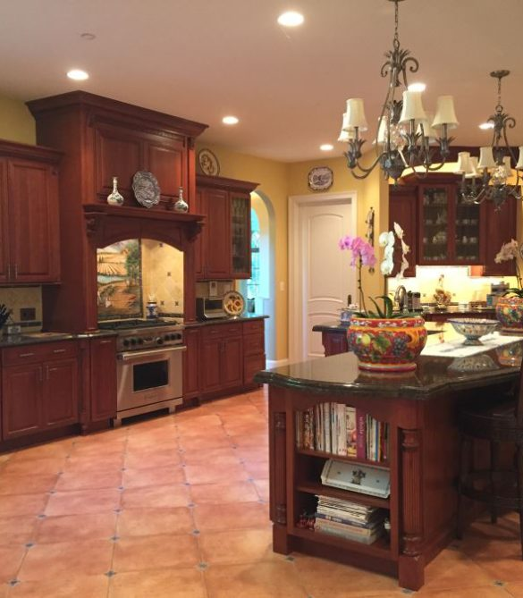 European Style Kitchen - Potomac, MD