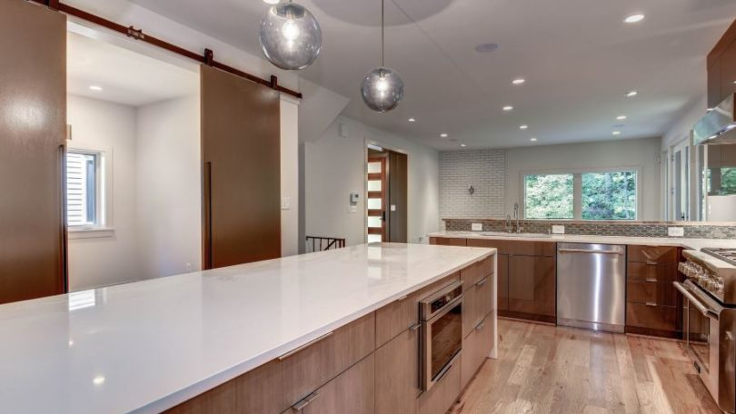 Sleek Contemporary Interior Renovation - Arlington, VA