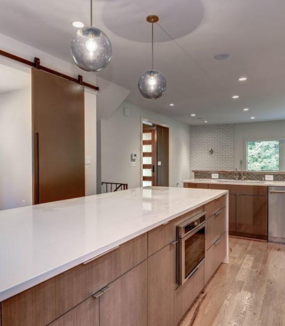 Sleek Contemporary Interior Renovation - Arlington, VA