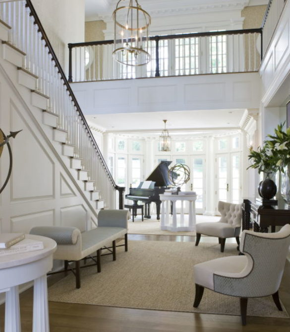 Stunning McLean Mansion's Entry Hall