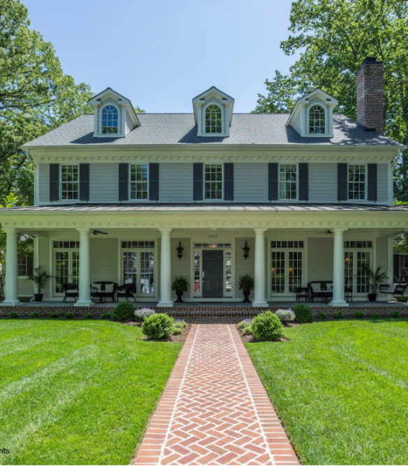 Elegant Southern Colonial-McLean, VA