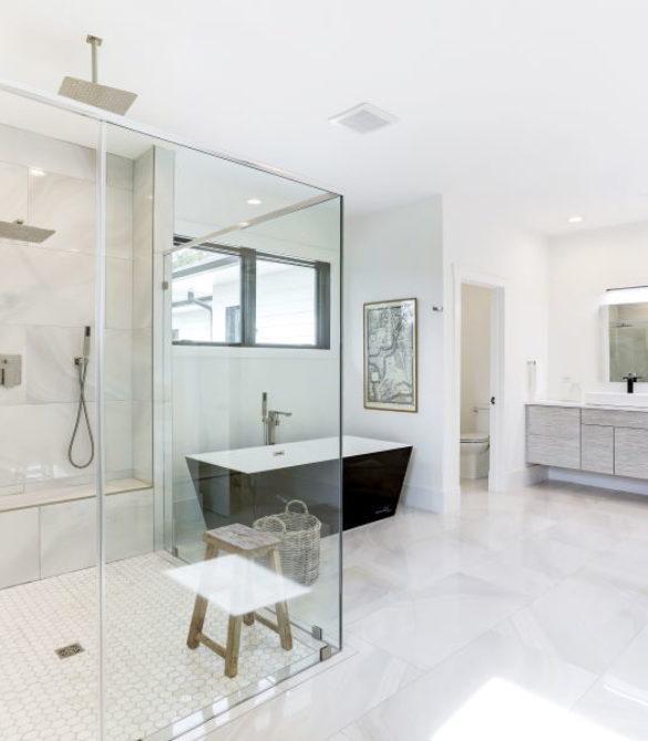 Stunning Master Bath- McLean, VA