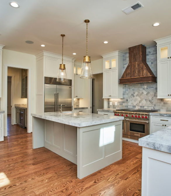 Kitchen Warm and Luxurious Kitchen-Arlington, VA