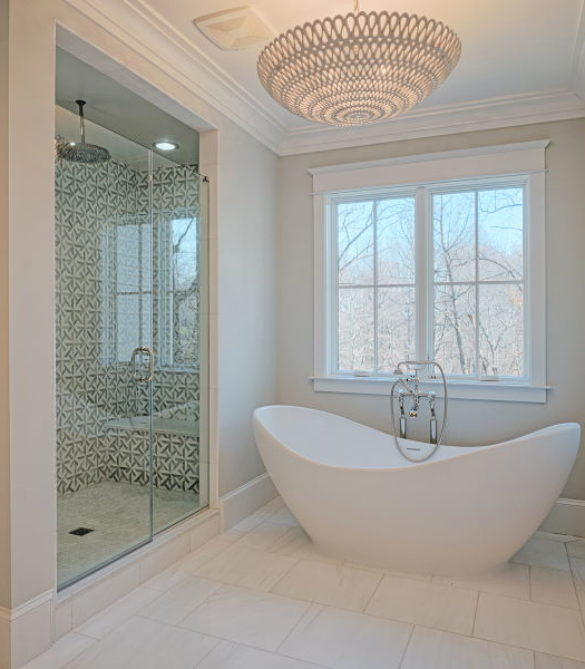 Beautiful Master Bath -Arlington, VA