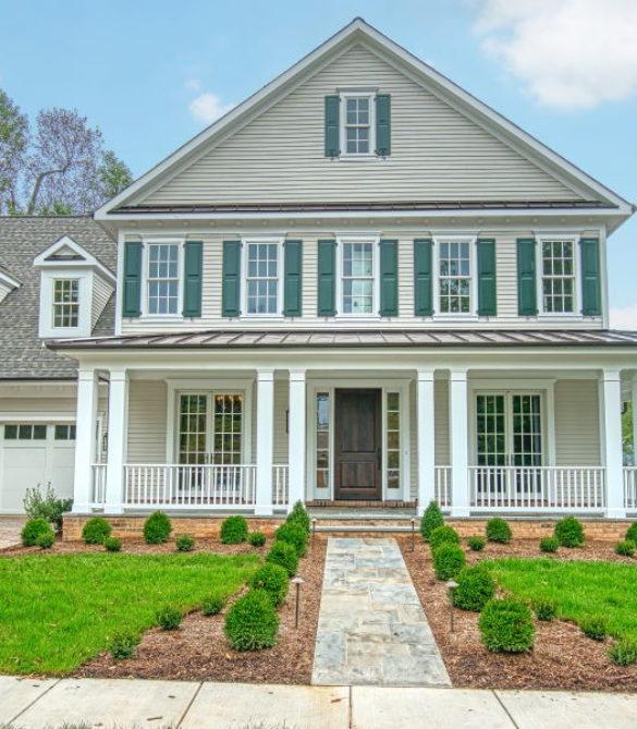 Wrap Porch Colonial- Arlington, VA