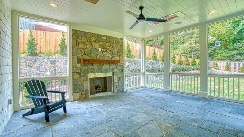 Traditional Screened Porch - Arlington, Virginia